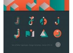 创意字母标志设计