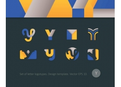字母y标志设计