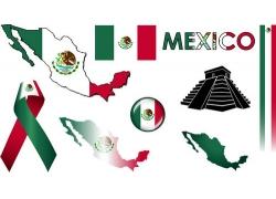墨西哥国旗图标