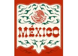 墨西哥国徽背景