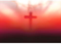 梦幻十字架背景
