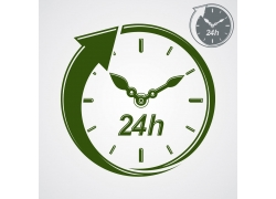 24小时营业图标
