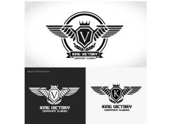 翅膀盾牌标志