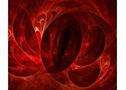 酷炫红色抽象背景