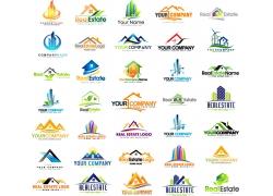 创意房屋地产标志