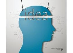 创意头脑信息图表