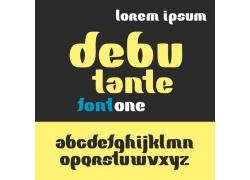 个性时尚英文字体