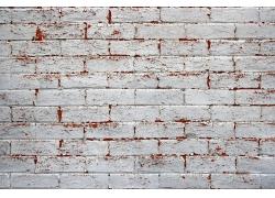 锈迹斑斑砖墙背景图片