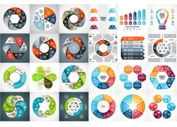 彩色创意信息图表合集