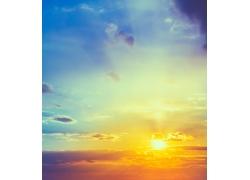 日出云彩风景