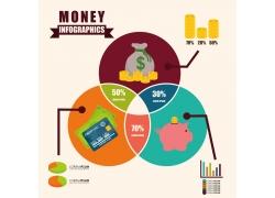 商务金融信息图表