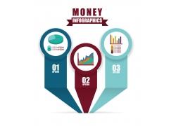 商务表柱信息图表