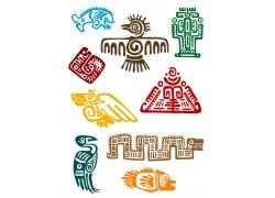 燕子鱼动物墨西哥符号