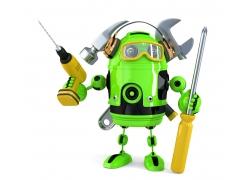 机器人维修工人