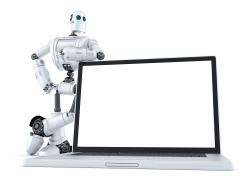 笔记本电脑与机器人