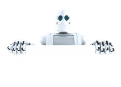广告牌与智能机器人