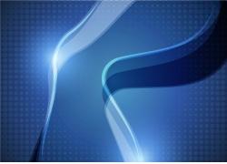 蓝色立体背景设计