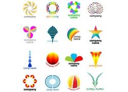 彩色时尚图形标志