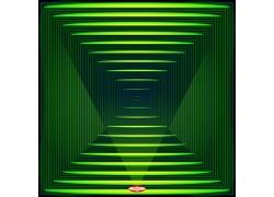 三维立体空间背景