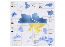 矢量地图图表设计