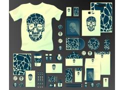 骷髅斑纹VI设计