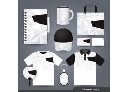 黑白时尚VIS视觉识别系统