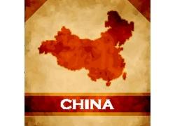 中国地图背景