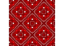 红色无缝拼接背景