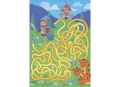 幼儿卡通迷宫游戏设计