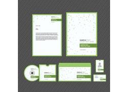 绿色圆点企业VI模板