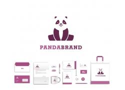 大熊猫标志VI设计