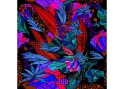 花卉插画背景