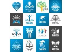 教育学校主题标志