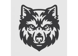 狼动物标志