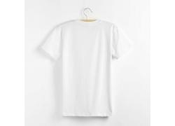 白色空白短袖T恤