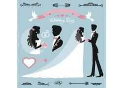 新人情侣婚礼卡片