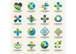 绿色医疗主题标志