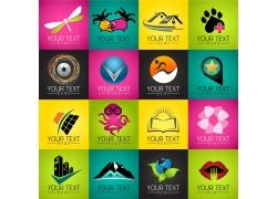 个性创意彩色标志合集