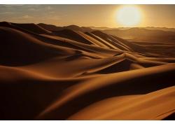 美丽沙漠沙丘