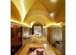 豪华的摩洛哥澡堂图片