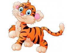 可爱的小老虎图片