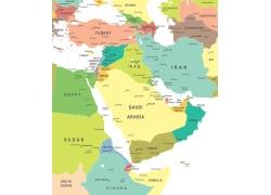世界地图板块图片