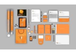 橙色VIS视觉识别系统