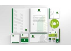 绿色时尚VIS视觉识别系统