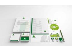 绿色全套VI视觉识别系统