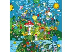 卡通动物王国图片