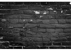 黑色墙壁背景
