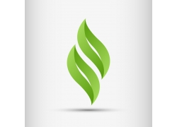 绿色时尚logo设计