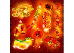 中国风新年图标