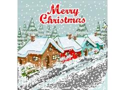 2016圣诞节海报插画